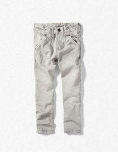 Zara pre-washed grey jeans