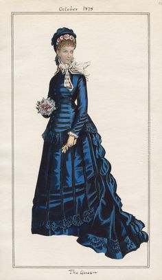 Casey Fashion Plates Detail | Los Angeles Public Library The Queen Date:  Friday, October 1, 1875