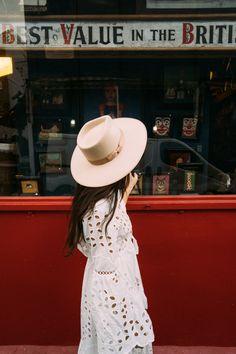 Dress MISS JUNE Paris by @sbri_diaries Diaries, Panama Hat, June, White Dress, Dresses, Fashion, Vestidos, Moda, Fashion Styles