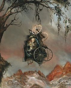 Painting by Esao Andrews