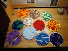 Solar System in felt – Science, Physics and Astronomy News Science Projects, School Projects, Solar System Projects, Felt Board Stories, Felt Stories, Solar System Planets, Felt Patterns, Bird Patterns, Space Theme