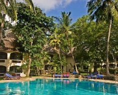 Severin Sea Lodge -is situated directly at the Indian Ocean on Bamburi Beach, approximately 12 kilometers from Mombasa Town. Mombasa is the second largest city of Kenya and famous for its Portuguese built Fort Jesus, guarding the Old Town. The hotel is nestled under palm trees with plenty of space to relax. For the last 35 years Severin Sea Lodge has been renowned for it's hospitality to its loyal guests, who enjoy the excellent cuisine and the friendly and attentive service.