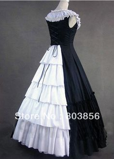 Find More Costumes & Accessories Information about 2013 floor Length Victorian Gothic Lolita/Marie Antoinette/civil war/Southern Belle Ball Gown  V 901 US 6 26XS 6XL,High Quality gown prom,China gowns white Suppliers, Cheap gown beaded from Julia Li's shop on Aliexpress.com