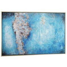 Gild Design House 'Zephyr' Wood Framed Canvas Art