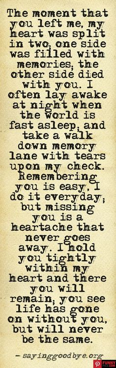 Yes! so true, so true....miss you every day Nana.