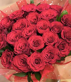 24 Red Roses   24 Red Rose Bouquets   Bunches.co.uk~ My favourite website for my orders to family & friends to the UK... been using them for over 5yrs & they have never let me down or disappointed! Great service, great flowers, great prices!!