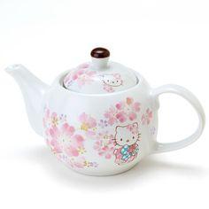 Cute Smile - Hello Kitty Sakura tea pot