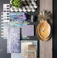 Heath by the Winchester Tile Company is Tile of the Year 2018! Pair it with brass, gold and other metallic, alongside Scandi greys, marble and chalet chic wooden planks for an upmarket feel.