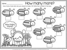 FREE beetle 'making 10' activity!