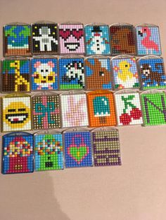 Bead Loom Patterns, Beading Patterns, 3d Perler Bead, Plastic Canvas Ornaments, Diamond Art, Pixel Xl, Loom Beading, Bead Crafts, Coloring Pages