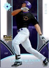 2009 UPPER DECK ULTIMATE COLLECTION CARLOS QUENTIN CARD #220 #'ED 76/799 in Sports Mem, Cards & Fan Shop, Cards, Baseball | eBay $0.01