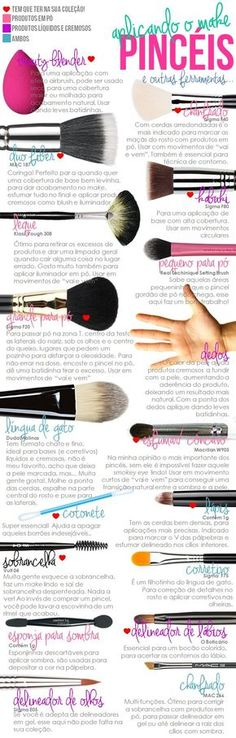 Minha Querida Necessaire » A CIÊNCIA DOS PINCÉIS! Tudo sobre pincéis de maquiagem http://minhaqueridanecessaire.com/?p=4669: