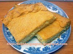 Τυρόπιτα με τραγανό σπιτικό φύλλο (κουρού) - από «Τα φαγητά της γιαγιάς» Cheese Pies, Spanakopita, Cornbread, Snacks, Eat, Cooking, Ethnic Recipes, Desserts, Food