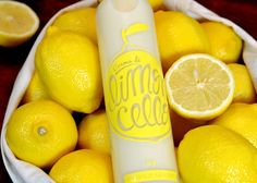 Dedica Group created a very yellow self-promotion gift for their clients. They called it, Crema di Limoncello – 100 uniquely numbered bottles were only produced.
