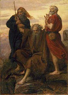 Victory O Lord (Victoria Oh Señor), 1871. John Everett Millais. Los amalecitas son derrotados, como en Éxodo 17:8-16.