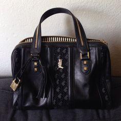 L.A.M.B. Handbags -  AUTHENTIC Gwen Stefani LAMB black handbag
