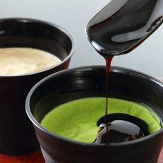 Matcha pudding, Tsujiri, kyoto