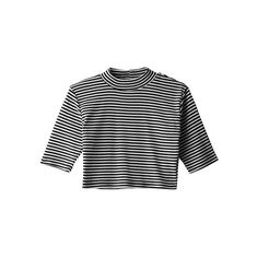 [k1312c] ❤ liked on Polyvore featuring tops, t-shirts, shirts, crop tops, cropped tops, crop shirt, shirt crop top, t shirt and tee-shirt