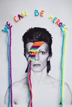 Bowie Art by Victoria Villasana