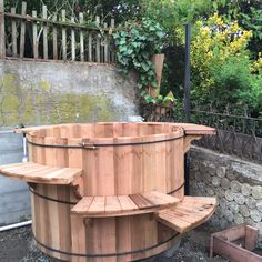 Finished Cedar Tub Paul Tamate Installing Anese Style Hot Tubs