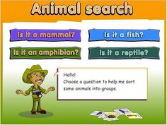 Animal Search: Classifying Animals