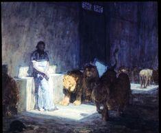 HENRY OSSAWA TANNER Daniel In The Lions Den