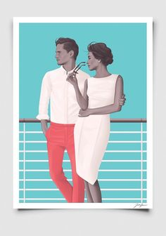 Image of Man & Woman