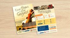 Flyer criado para a associação ASPEM BRASIL.