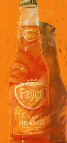 The strange taste of Faygo Orange. Some love it some think the flavor comes from Mars