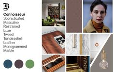 #AW1516 #designtrends  #2016trends | Trend Bible Autumn Winter 2015/16 Home & Interior Trends Connoisseur