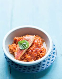 Risotto aux rougets