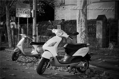 Vespa Couple - Photo taken by Me.  Sabrina Perri