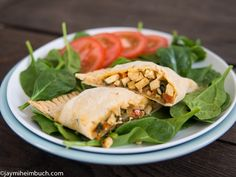 Great recipe for GF & Vegan Southwest Style Breakfast Hot Pockets