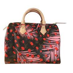 88a0bec2131c Joli Closet · Womens Bags · Sacs à main Louis Vuitton speedy SUGAR PINK  POPPY Cuir Multicolore ref.32547 - Joli