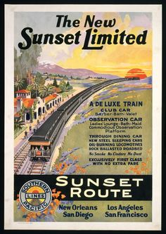 The New Sunset Limited, 1924