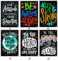 InSTALLing Inspiration - 20 x 30 UV-Coated Vinyl Adhesive Decals for Bathroom Stall Doors or Any Walls - Collection A Bathroom Stall, Bathroom Doors, Master Bathroom, Bathrooms, Kindness Projects, School Bathroom, Classroom Posters, Classroom Quotes, Classroom Ideas