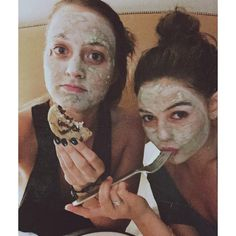 """Danielle Campbell on Instagram: """"Movies, masks and cookies. Hard to end the night better. """""""