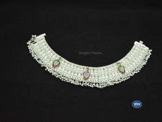 These are Heavy bridal anklets for Marriage, these silver payal have traditional look which can be used during Indian festivals by all the women's Payal Designs Silver, Silver Anklets Designs, Silver Payal, Anklet Designs, Necklace Designs, Ring Designs, Gold Pendant, Pendant Jewelry, Trendy Fashion Jewelry