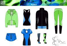 Com activewear // athleisure sportbekleidung, bekleidung, sport. Athleisure, Urban Fitness, Flat Drawings, Technical Drawing, Sports Jacket, Sport Wear, Fashion Flats, Workout Wear, Sport Fashion
