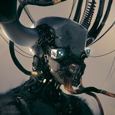 Robohead, Jan Urschel on ArtStation at http://www.artstation.com/artwork/robohead