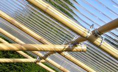 Bambusrohr-Verbinder BAMBOOTIX -X- (Zum Vergrößern bitte Bild anklicken)