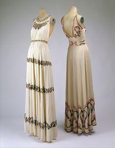 Dresses  1930s  The Metropolitan Museum of Art - Great Depression say whaaaa-?