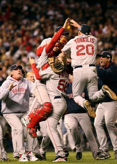 2007:  BOSTON RED SOX (4) vs. COLORADO ROCKIES (0); red sox dominated 4-game series nearly doubling-up colorado in almost every offensive category, while posting a team era of 2.50 compared to the rockies' 7.38