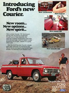 1976 Ford Courier Advertisement Hot Rod August 1976 | Flickr - Photo Sharing!