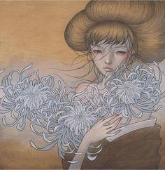 Audrey Kawasaki  - Paintings by Audrey Kawasaki  <3 <3