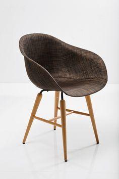 Sedia in acciaio Forum by KARE-DESIGN