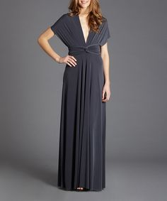 Great dress, turns into many styles! Smart!