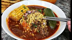 Today I am making a flavorful and easy birria ramen also known as BIRRIAMEN. This is a fusion of ramen and birria con. Top Ramen Recipes, Ramen Noodle Recipes, Asian Recipes, Mexican Food Recipes, Dinner Recipes, Ramen Noodles, Asian Foods, Dinner Ideas, New Cooking