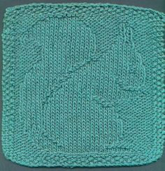 Squirrel Dish Or Face Cloth Knitting Pattern