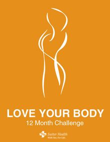 2012 - the year you Love Your Body. Take the Challenge.